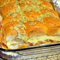Hawaiian Sweet Roll Ham Sandwiches by Celeste's Pinterest