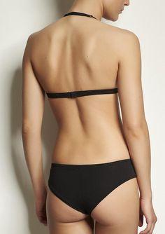 334e8923ab865 Brazilian cut undies CHEEKY BASE- black