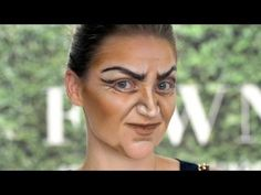 Witch Makeup Tutorial for halloween or a costume party...crazy good, no prosthetics