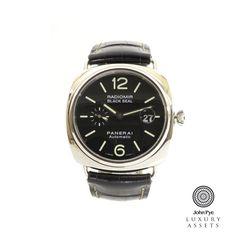 Panerai Radiomir Black Seal Gents Stainless Steel Automatic Watch - via National Jeweler