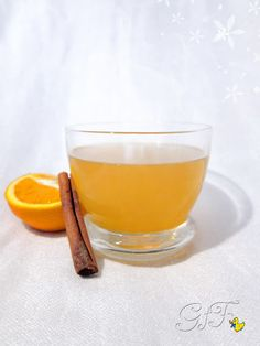 Gialla tra i fornelli: Influenza pussa via!!! Decotto all'arancia e cannella