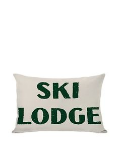 56% OFF One Bella Casa Ski Lodge Pillow
