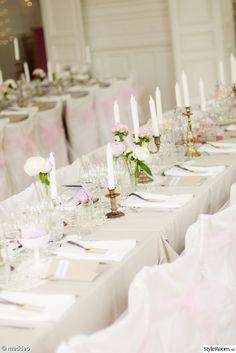 bröllopsdukning,pioner,dukning