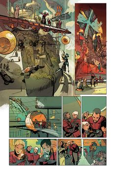 Rick Remender & Greg Tocchini's LOW #1