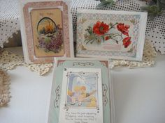 Greeting Cards   Victorian Postcard   All Ocassion by VintageRedo