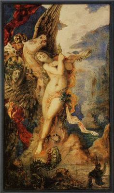 Perseus and Andromeda - Gustave Moreau. Art Experience NYC www.artexperiencenyc.com/social_login/?utm_source=pinterest_medium=pins_content=pinterest_pins_campaign=pinterest_initial