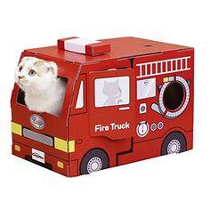 じゃれ猫なりきりにゃんボックス消防車