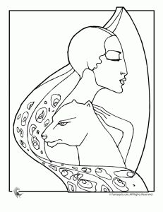 Art Deco Coloring Pages Art Deco Design Coloring Page 5 – Fantasy Jr ...