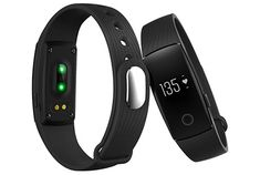 Kassica Fitness Tracker with Heart Rate Monitoring Bluetooth Smart Bracelet Wristband Pedometer Step Calories Counter Sleep Monitor Smart Watch Support Samsung Iphone 6 Plus IOS and Android Smart Fitness Tracker, Fitness Tracker Bracelet, Waterproof Fitness Tracker, Fitness Activity Tracker, Fitness Sport, Health Fitness, Fitness Band, Cardio Fitness, Accessories