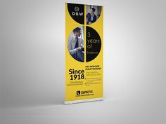 Corporate Roll-up Banner by Psd Templates on @creativemarket