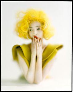 Contact Xiao Wen London, UK American Vogue September 2012