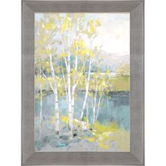 A Quiet Snowing Landscape 24x36in Quality Hand Painted Oil Painting Framed