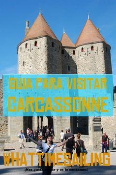 Carcassonne en el sur de Francia es el mejor ejemplo de ciudad medieval que podemos encontrar. Con nuestra guía podrás descubrir qué ver, dónde dormir, qué comer y cómo disfrutar de esta ciudad francesa. Francia | Carcassonne | Carcasona | Guía | Comer | Dormir | Visitar