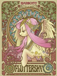 Fluttershy Nouveau by ~hezaa.. for my pippsta