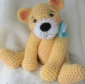 Favorite Teddy Bear Crochet Pattern - via @Craftsy