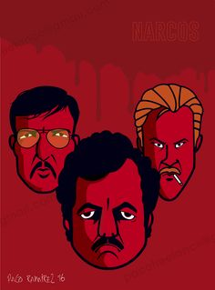 NARCOS. Sangre y coca a partes iguales. By: Paco Ramirez & Mr. Illustrator