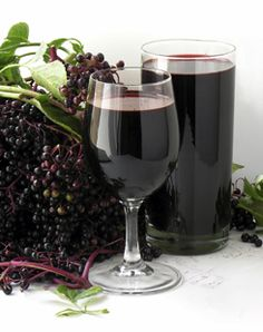 Elder Wine, A Perfect Libation for a Regency Holiday