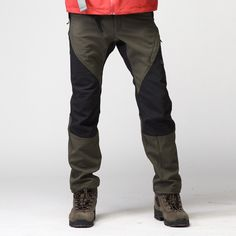 Outdoor pants waterproof soft shell outdoor thermal fleece pants trousers-inCamping Hiking from Apparel Accessories on Aliexpress.com $78.38 Outdoor Pants, Outdoor Wear, Outdoor Outfit, Camping Outfits, Camping Clothing, Bushcraft, Slacks, Trousers, Cold Weather Gear