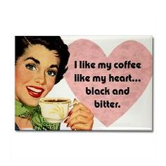 Black Coffee Rectangle Magnet > Funny Fridge Magnets > Cafe Pretzel T-Shirts & Gifts