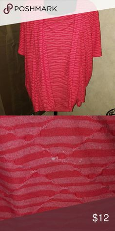 Sag Harbor top One piece made to look like two.  Small not noticeable bleach spot Sag Harbor Tops Blouses
