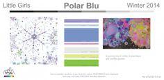 Polar Blu winter 2014 kids color trend forecast