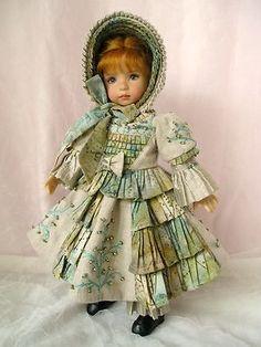 "Erin Rose, 13"" Doll  2012 Collaboration Dianna Effner & Magalie Dawson #4/14"