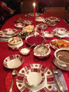 Polish Christmas, Christmas Dishes, Christmas Baking, Christmas Cheese, Christmas Foods, Christmas Drinks, Holiday Foods, Ukrainian Recipes, Russian Recipes