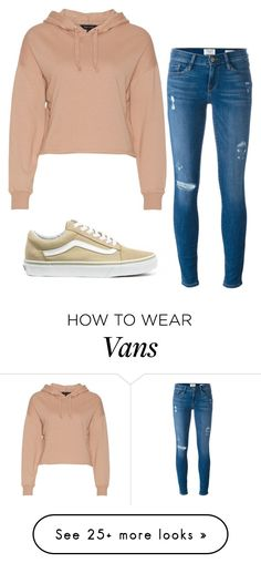 """""""Slow hands..."""" by annayalee-gerber on Polyvore featuring Frame and Vans"""