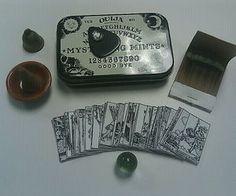 Travel Ouija Board and Tarot Cards