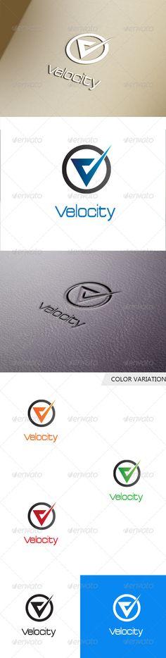 V Letter Logo Template. (Letters)