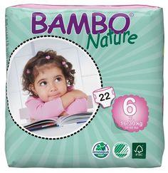Pieluszki jednorazowe Bambo Nature XL 16-30 kg 22 szt ABENA Toddlersi