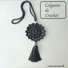 Colgante de Crochet | Handbox Craft Lovers | Comunidad DIY, Tutoriales DIY, Kits DIY