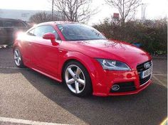 Used 2011 (61 reg) Red Audi TT for sale on RAC Cars