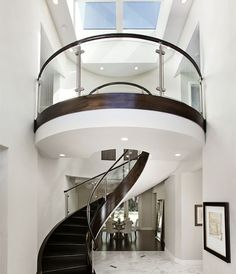 Round Stairs Design, Pictures, Remodel, Decor and Ideas. This is just awesome!