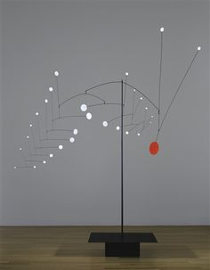 View Snowflake tree by Alexander Calder on artnet. Browse upcoming and past auction lots by Alexander Calder. Mobile Art, Hanging Mobile, Hanging Art, Alexander Calder Sculptures, Alexandre Calder, Mobile Sculpture, Kinetic Art, Diy Art Projects, Arte Popular