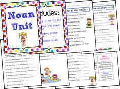 Ms. Third Grade: Noun Unit Freebie