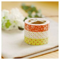 Adhesive Deco fabric tape set of 3 tapes  thank by Fallindesign, $13.60