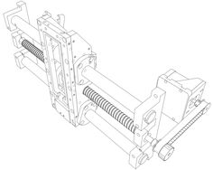 CNC Milling Machine II 雕刻机 - SOLIDWORKS,SOLIDWORKS - 3D CAD model - GrabCAD
