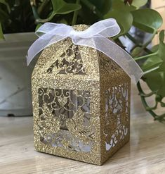 Glitter Gold laser cut wedding Favor boxes,Candy Packaging Box for guests,wedding Favors,Laser Cut Wedding Gift Boxes,Chocolate Boxes Wedding Favor Boxes, Wedding Party Favors, Wedding Gifts, Gold Wedding, Elegant Wedding, Favour Boxes, Wedding Souvenir, Wedding Catering, Wedding Venues