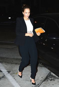 2014 > April 28 - Jessica Alba celebrates her birthday at Craig's in West Hollywood
