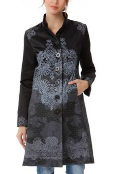 DESIGUAL 'HELENA' COAT 44 UK 16 NEW WITH TAGS