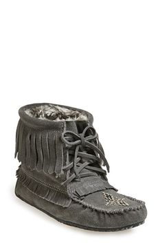 Manitobah Mukluks 'Harvester' Moccasin (Women) available at #Nordstrom