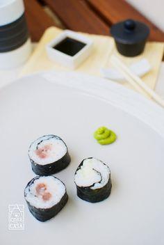 Sushi fatto in casa.