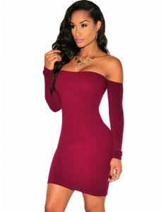 4967fa849c7c visto Vestido Off Shoulder, Shoulder Dress, Sexy Dresses, Tight Dresses,  Short Dresses