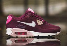 """Nike Womens Air Max 90 """"Villain Red"""" - SneakerNews.com"""