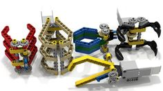 Lego EV3 Expandable Grabbers | by dluders