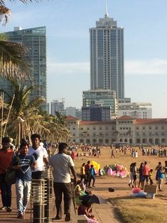 Colombo- Galle face green