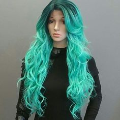 MODEL MODEL SYNTHETIC HAIR DEEP INVISIBLE PART LAC MODEL MODEL SYNTHETIC HAIR DEEP INVISIBLE PART LACE WIG #22  COLOR: SOPEMERALD Model Model Other