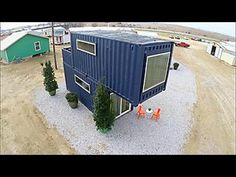 Texas Flip And Move Converted Container Homes