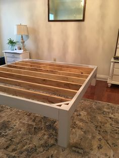 A step by step tutorial for creating a DIY headboard and bed frame using vintage doors. A budget friendly project that can transform your bedroom! diy bed frame How to Make a DIY Headboard and Bed Frame Decor, Furniture Diy, Diy Platform Bed, Diy Headboard, Homemade Beds, Furniture, Bedroom Decor, Homemade Bed Frame, How To Make Bed
